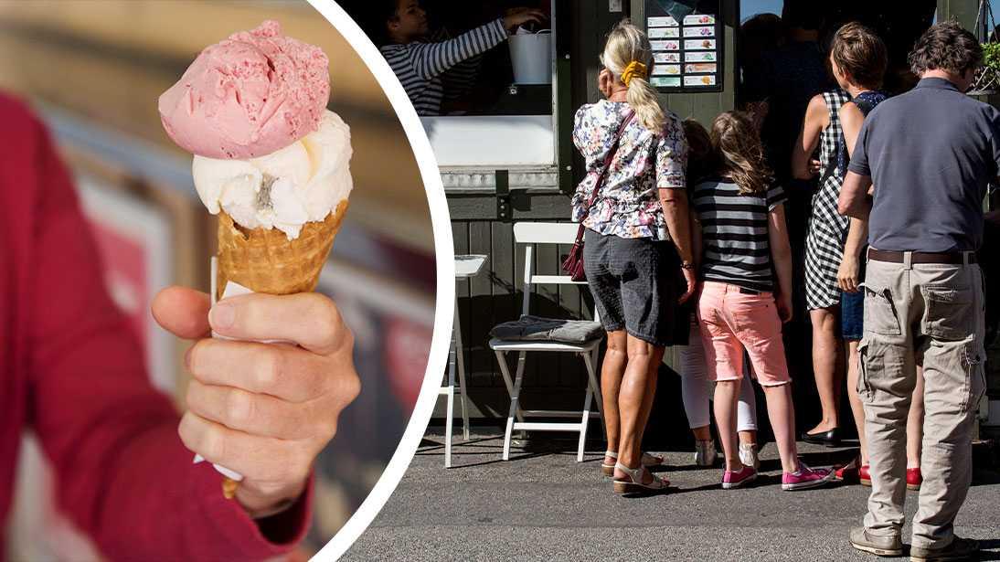 Är en glasskiosk ett serveringsställe eller en butik? Oklarhet råder inför att kommunen ska ta över ansvaret för att se till att det inte råder trängsel på matställena.