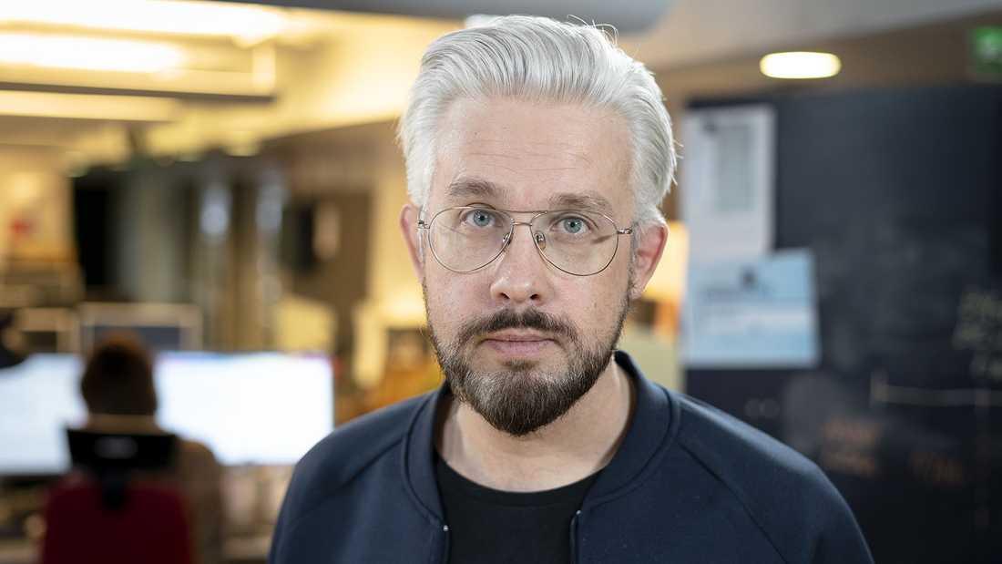 Bengt Strömbro, ansvarig utgivare vid SVT Umeå.