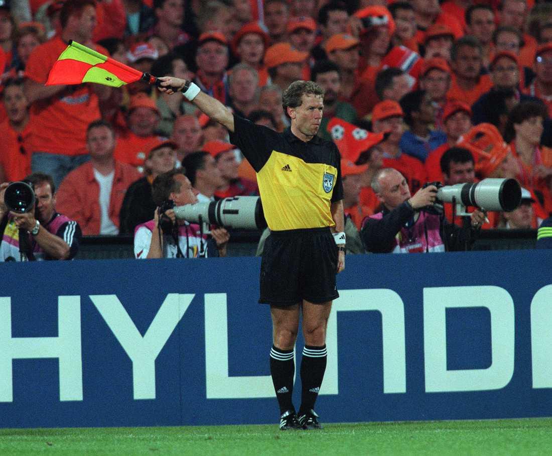 Leif Lindberg under EM-finalen 2000.