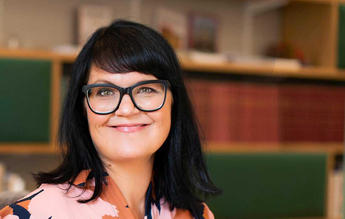 Therese Svanström är sedan i höstas ordförande för TCO med 1,4 miljoner medlemmar