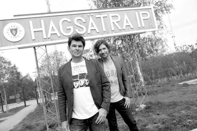Niklas Strömstedt och Andreas Johnson.