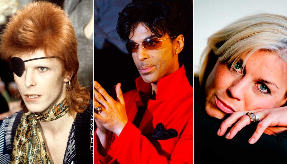 David Bowie, Prince och Josefin Nilsson var bara några av de stjärnor som lämnade oss under året.