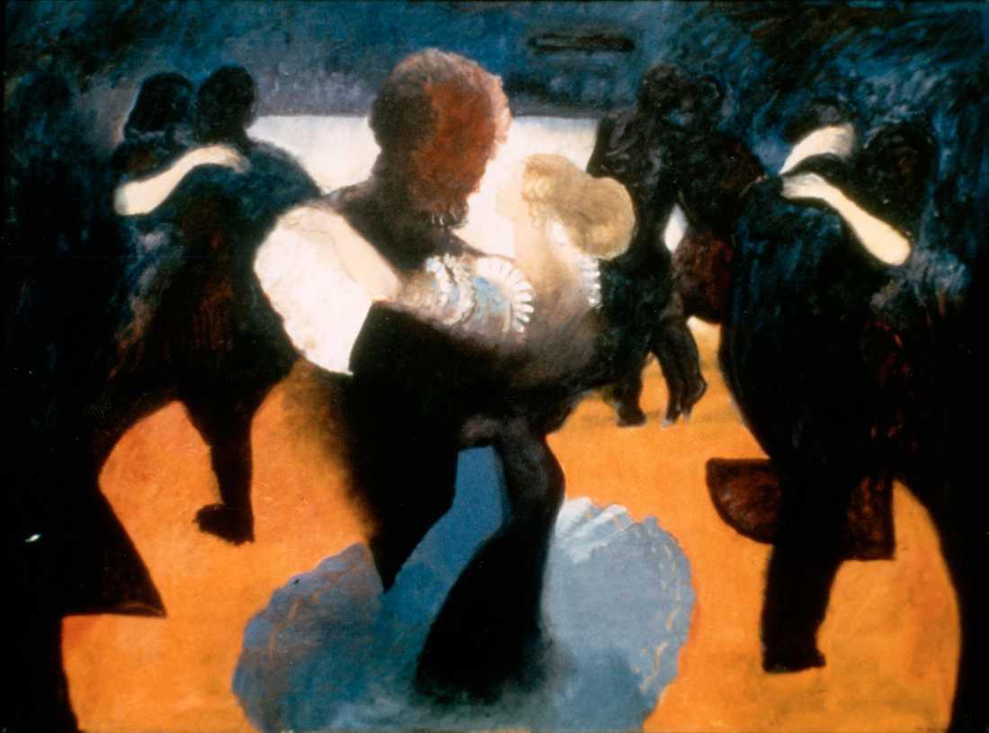 """""""Dans i det blå"""", 1979–82, Peter Dahl."""