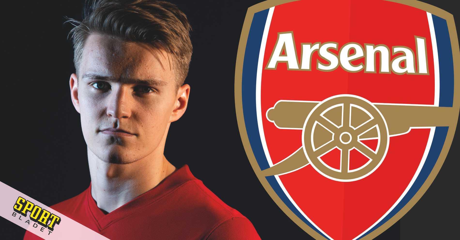 Martin Ödegaard lånas ut till Arsenal