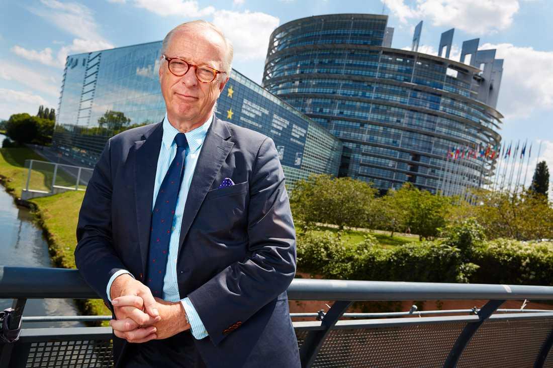 """""""Lika roligt nu som då"""", tycker Gunnar Hökmark (M) om EU-parlamentet i Strasbourg. Ändå lämnar han nu, efter 15 år som ledamot. Arkivfoto."""