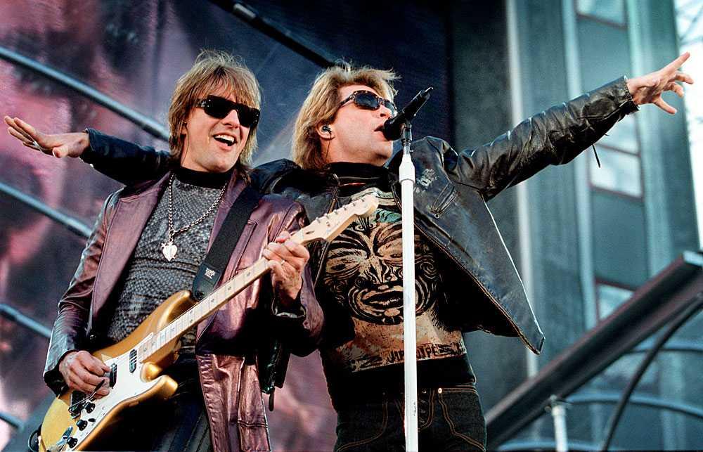 2001 Så här såg det ut senaste gången när Bon Jovi spelade i Sverige.