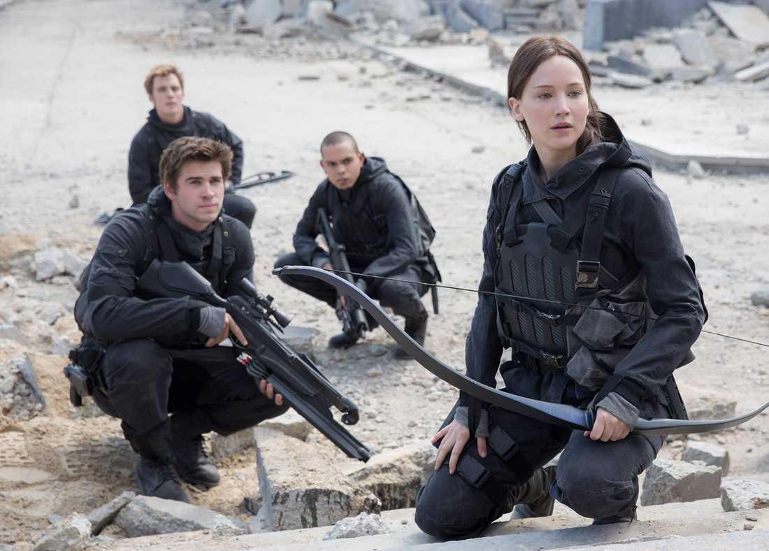 """Första bilden från """"Hunger games 4: Mockingjay del 2""""."""