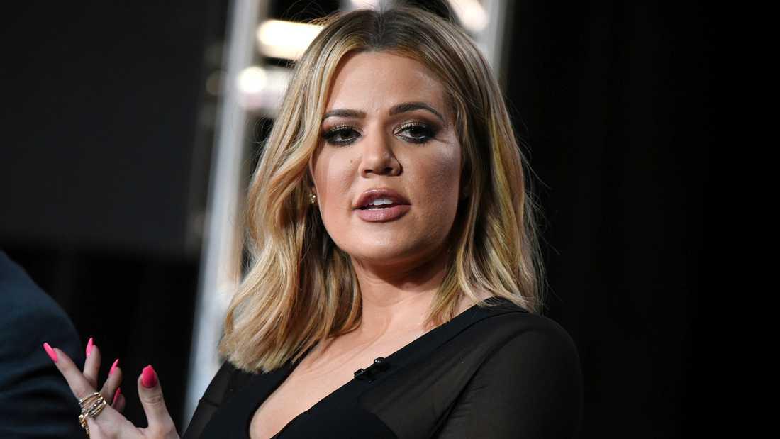"""Gud välsigne er alla!"", skriver Khloé Kardashian"