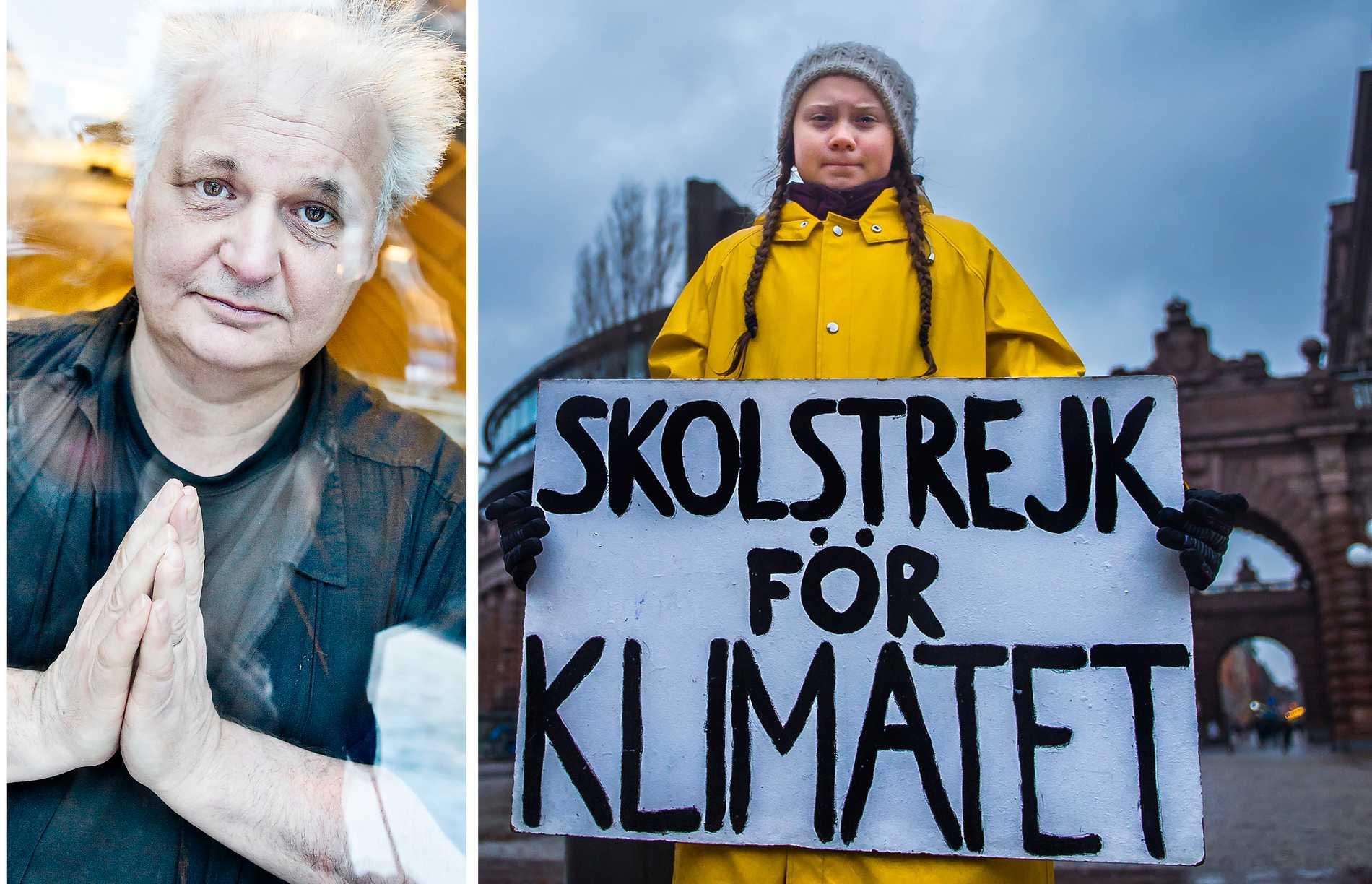 Göran Greider sätter sitt framtidshopp till Greta Thunberg-aktivismen