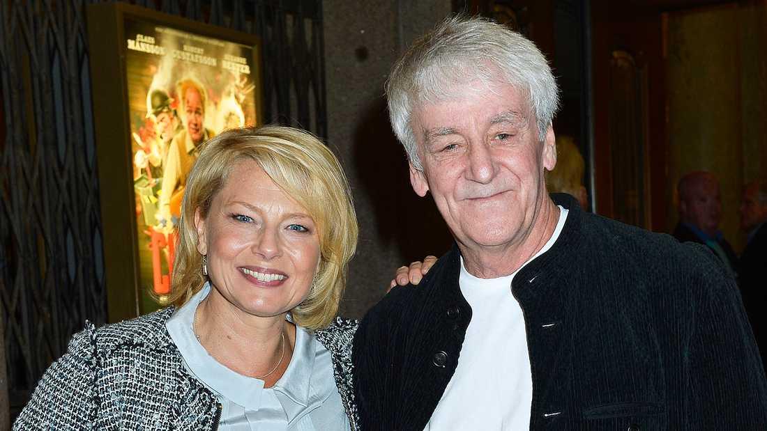 Colin Nutley och Helena Bergström.