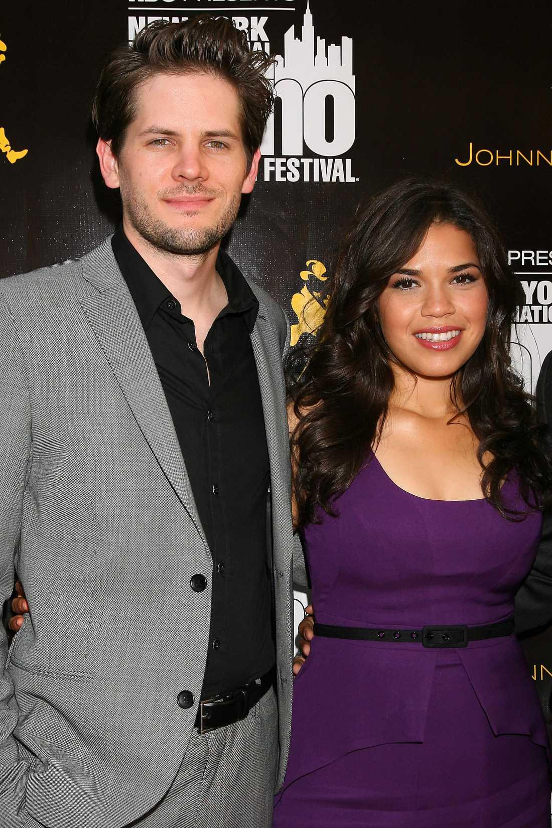 America Ferrera och Ryan Piers Williams är numera man och hustru.