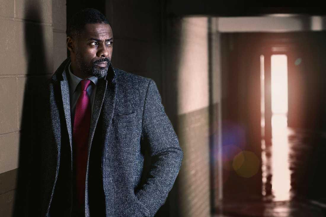 """Idris Elba bekräftar att tv-serien """"Luther"""" ska bli film. Arkivbild."""
