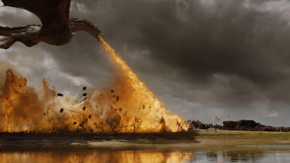 """HBO planerar en ny fantasyserie med referenser till bland annat """"Game of thrones"""" Westeros. Arkivbild."""