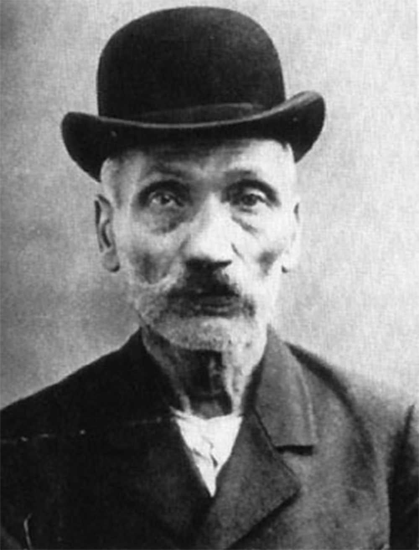 Tjuven Wilhelm Voigt gick till historien efter kuppen 1906.