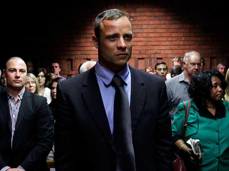Under tisdagen berättade Oscar Pistorius för första gången om dödsskjutningen i rätten.
