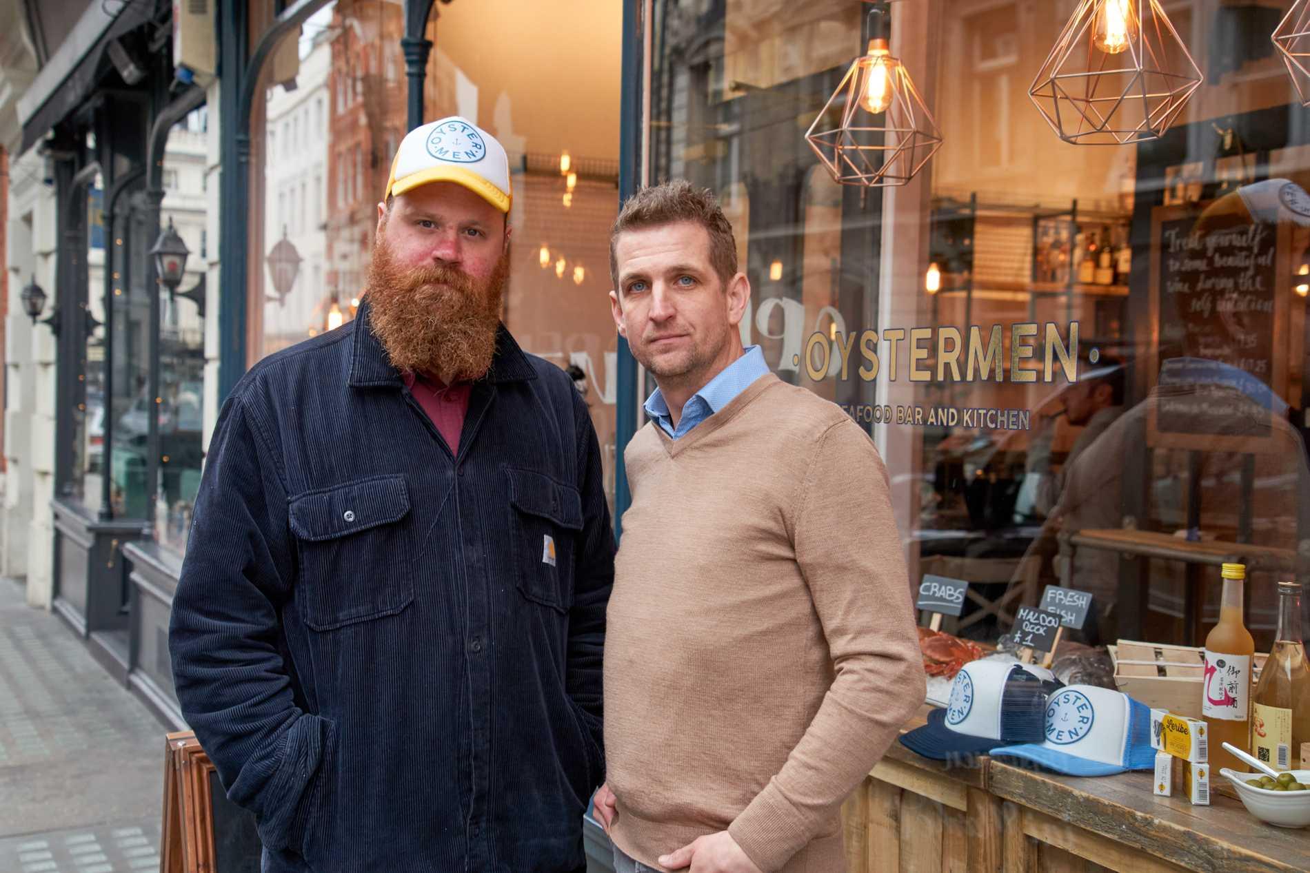 Rob Hampton och  Matt Lovell.