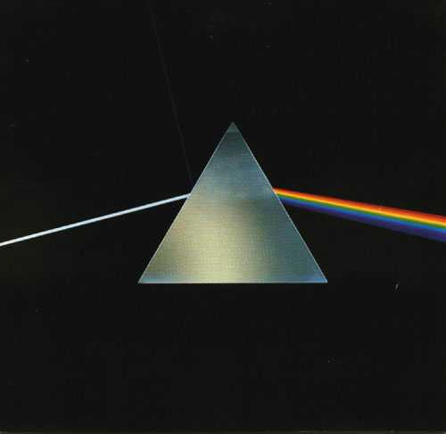"Pink Floyd – ""Dark side of the moon"" från 1973."