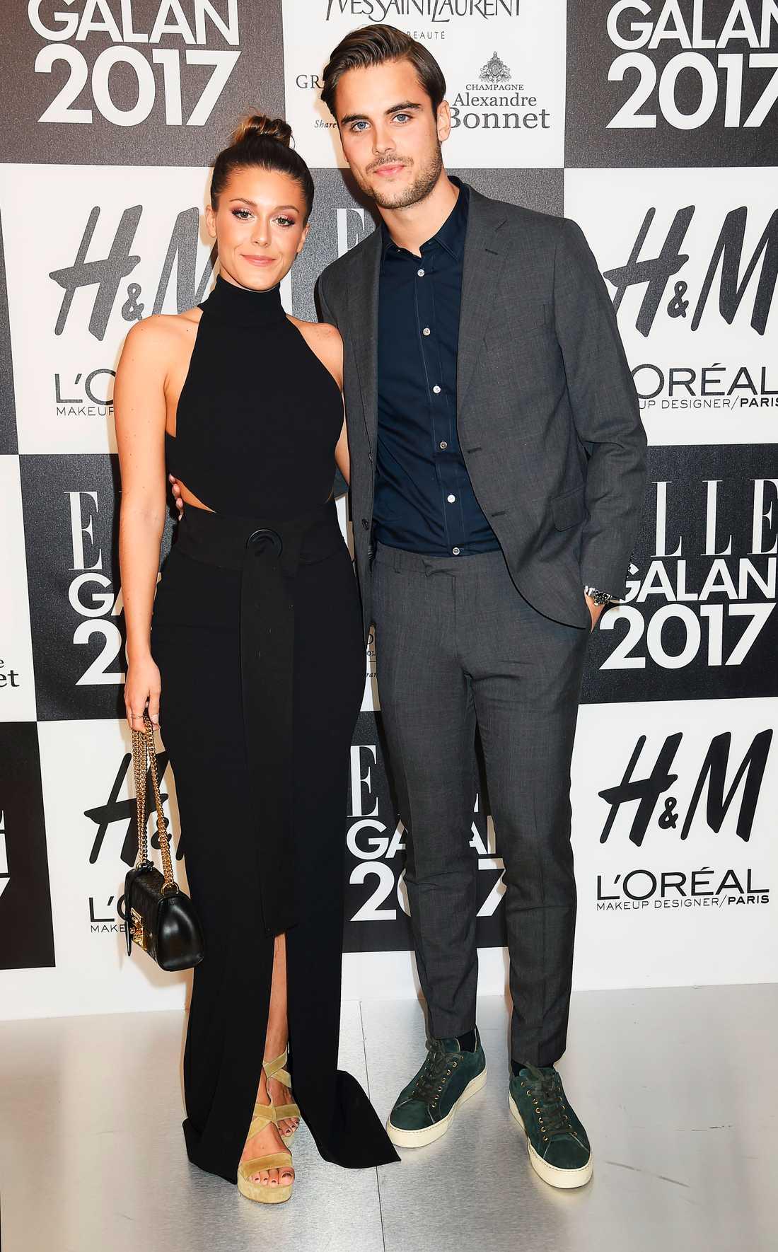 Bianca Ingrosso och Philippe Cohen på Elle-galan.