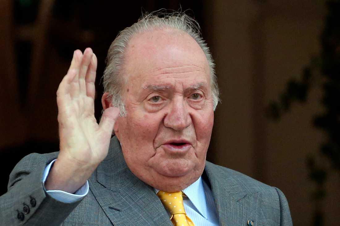 Spaniens ex-kung Juan Carlos. Arkivbild.