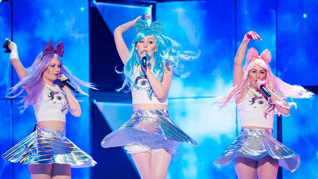 Dolly Style i Melodifestivalen 2016.