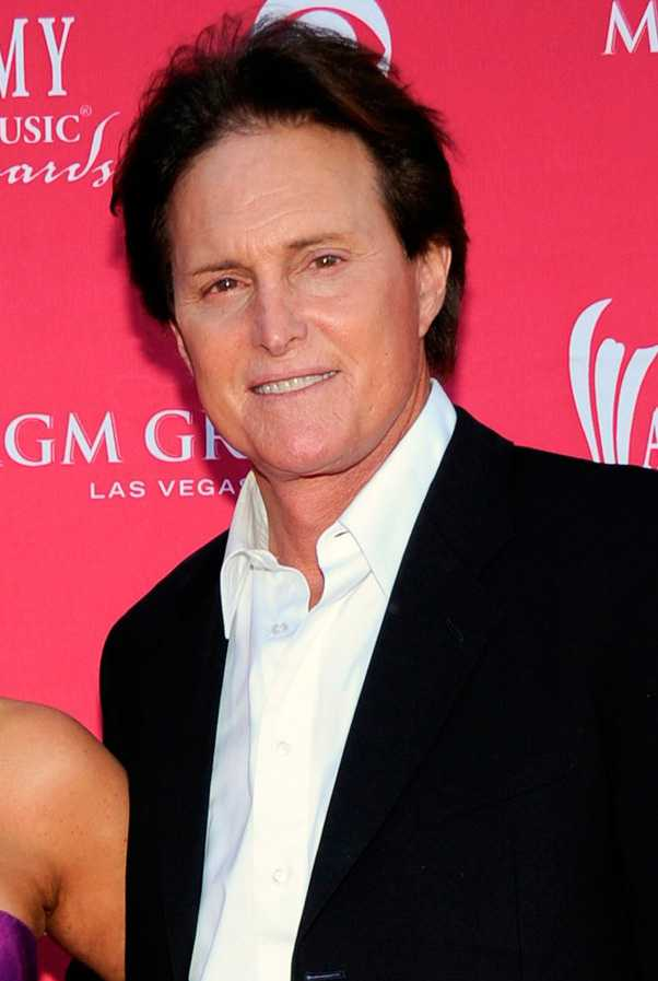 Pappa Bruce Jenner.