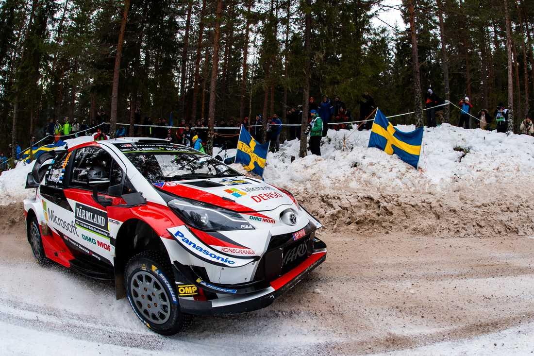 Ott Tänak leder Rally Sweden