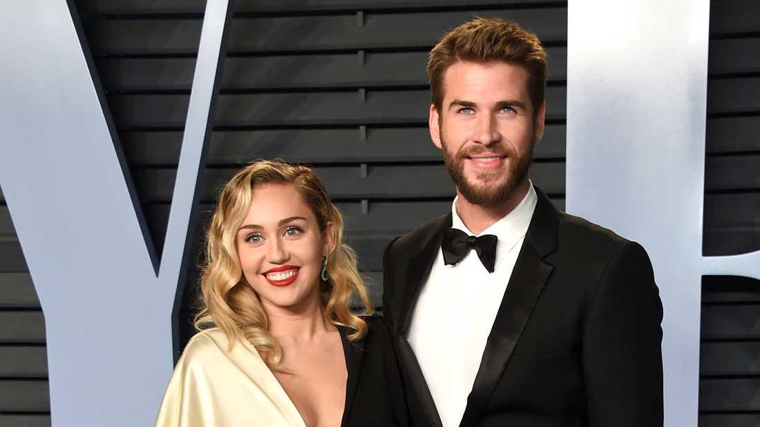 I augusti bestämde sig Chris Hemsworth och Miley Cyrus för att separera.