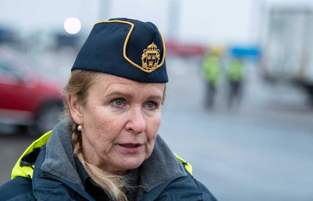 Therese Mattsson, generaldirektör vid Kustbevakningen.