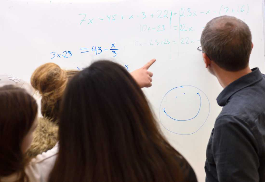 Lärare måste sätta gränser för sitt sociala engagemang, enligt en studie. Arkivbild.