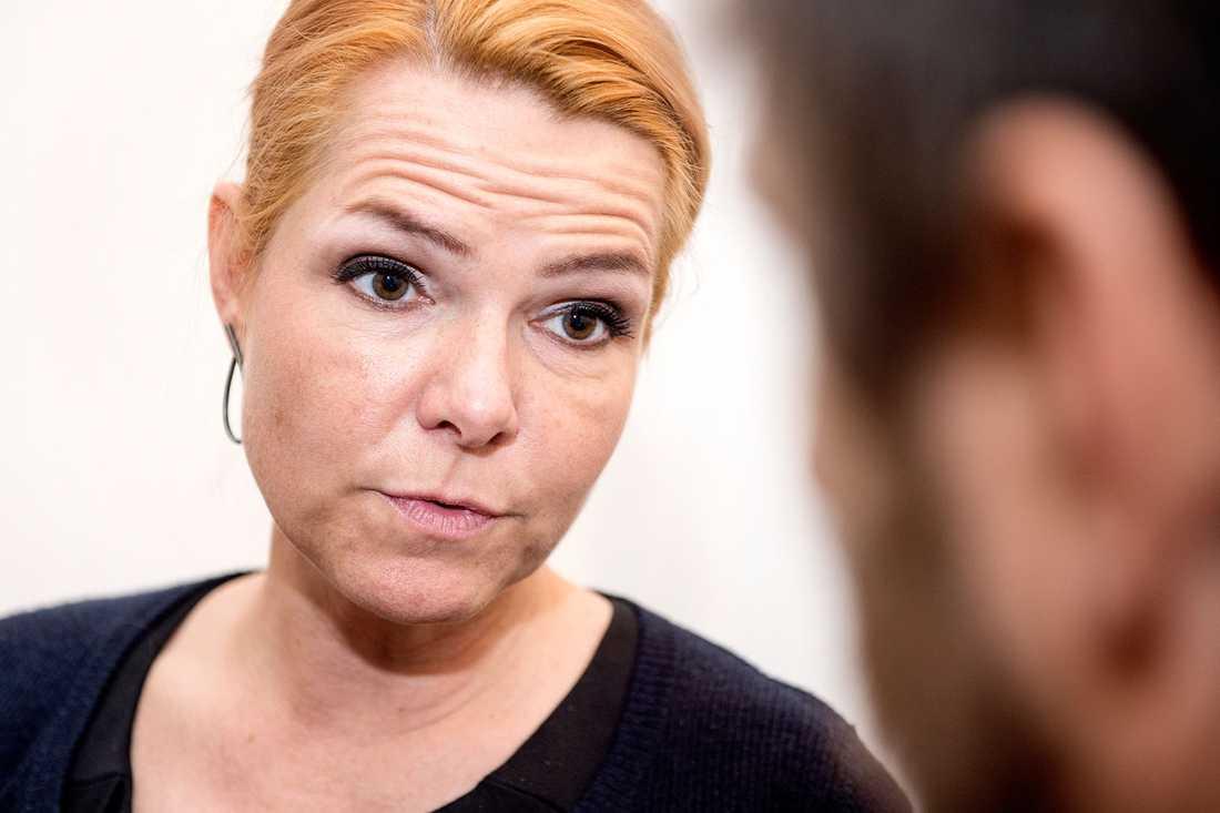 Danmarks migrationsminister Inger Støjberg