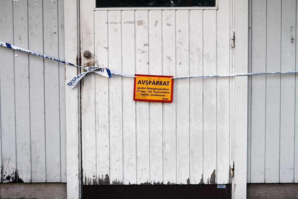 En man har gripits för det misstänkta mordet i Gävle.