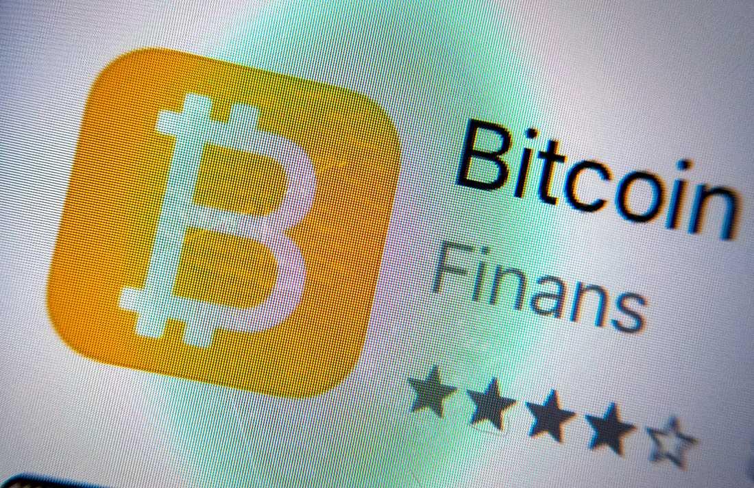 Att locka med investeringar i kryptovalutan bitcoin är en metod som bedrägerifabriken i Kiev misstänks för. Arkivbild.