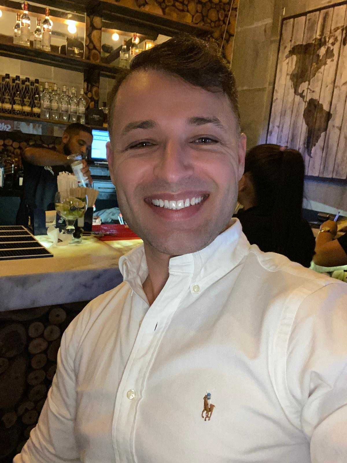 Diar Haciy, 34, bjöd vårdpersonalen på Lunds sjukhus på lunch.