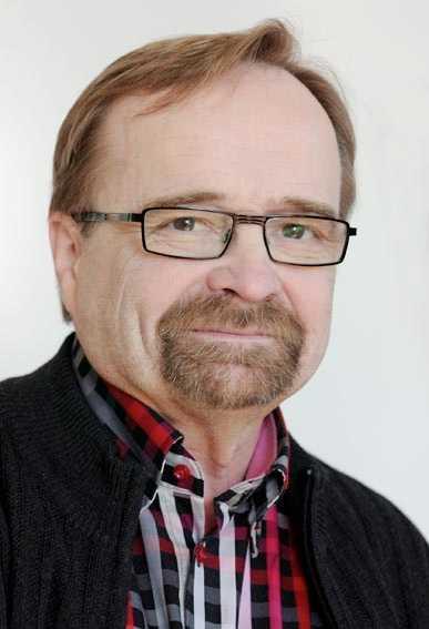 Arto Nieminen Ordförande Finska Journalistförbundet.