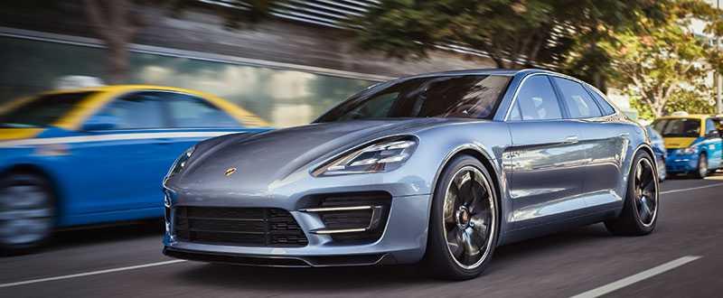 Porsche Panamera generation två? En försmak i alla fall, här i tuff kombikaross.