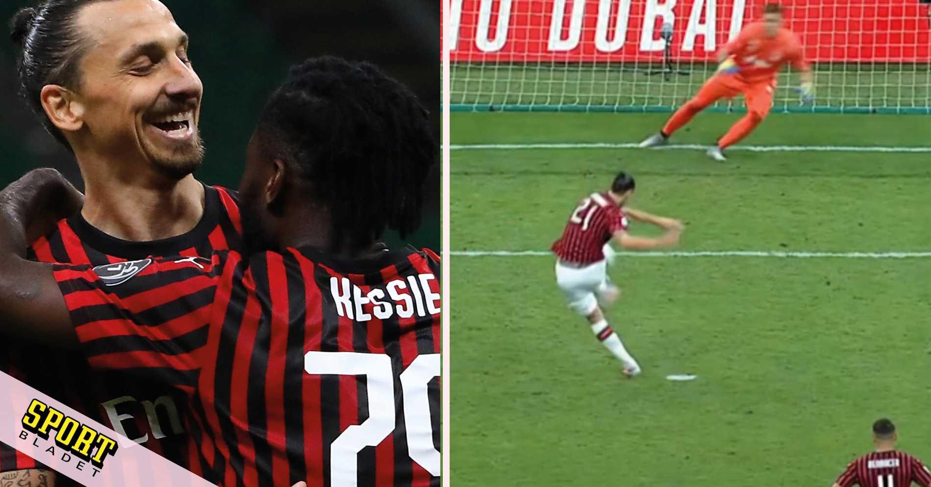 Zlatan stor hjälte i Milans galna vändning mot Juventus
