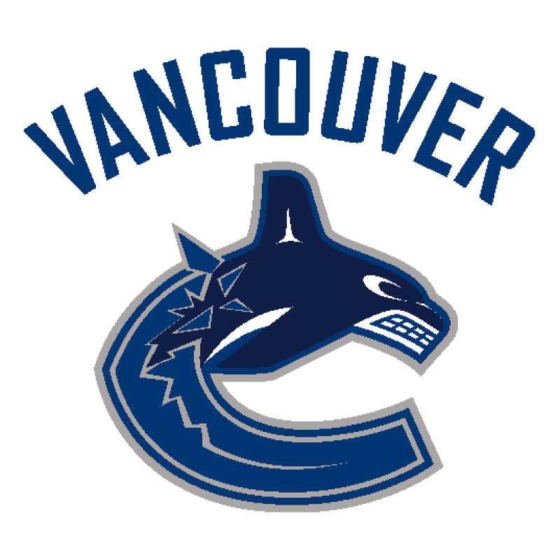 Vancouver Canucks 1997 Canucks har förändrat sin logga eller matchtröja tretton gånger under klubbens 40-åriga historia. Späckhuggaren som bryter sig ur bokstaven C blev kritiserad redan från start. Mest av allt för att den var en alltför uppenbar referens till Canucks ägarföretag Orca Bay.