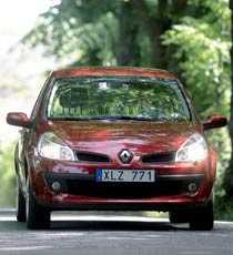 Clio känns som en stor bil.