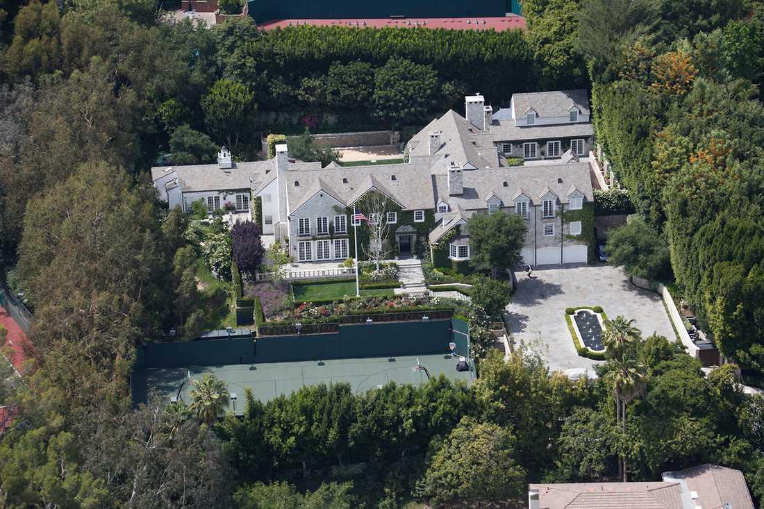 """Enligt den före detta scientologmedlemmen Marc Headley påminner """"bunkern"""" i Tom Cruises lyxvilla om sektens """"undergångsförberedelser""""."""