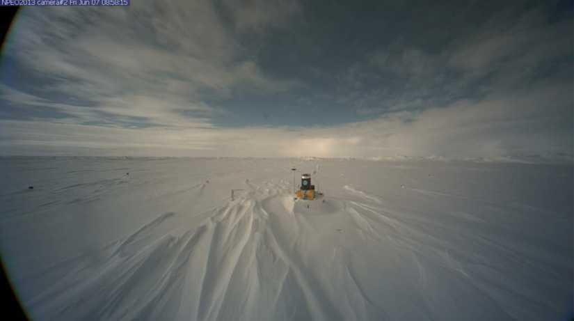 FÖRE... Tidigare bild från Nordpolen.
