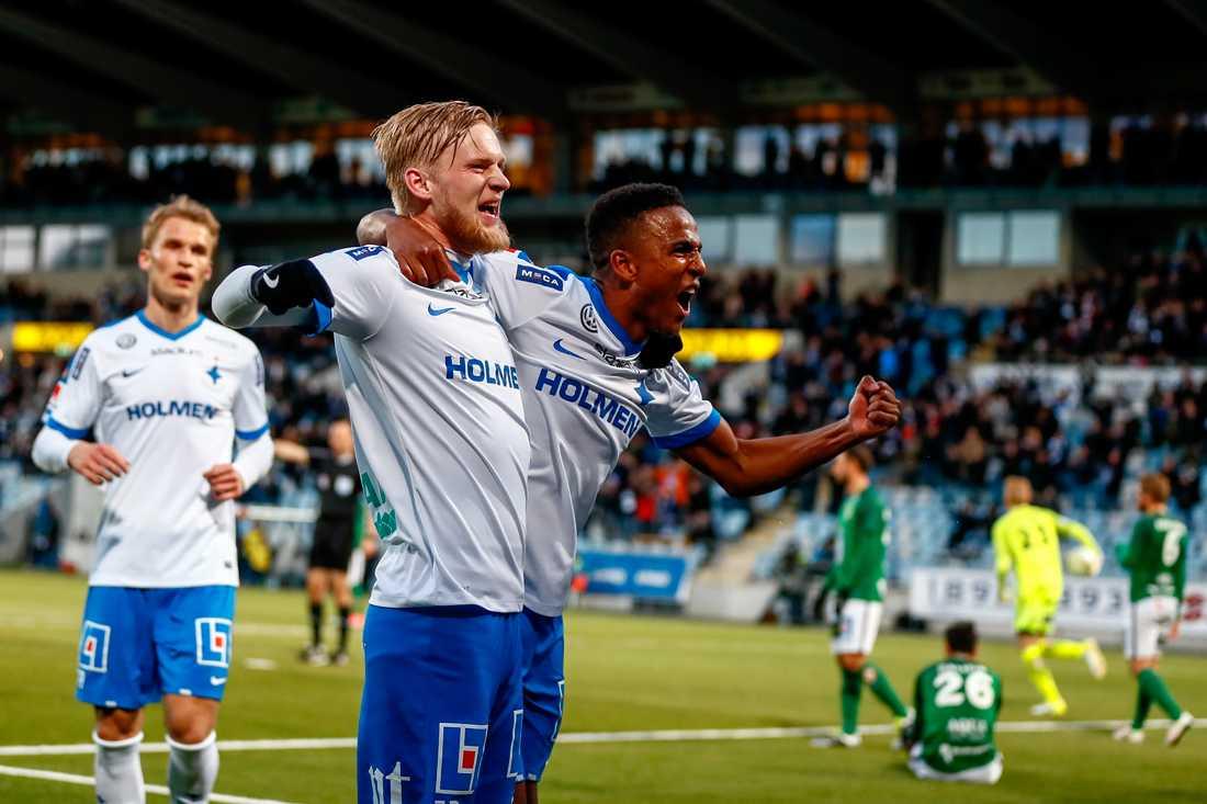 Kalle Holmberg och Niclas Eliasson.