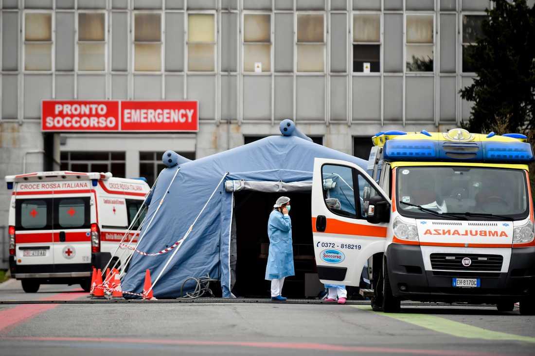 Italien är ett av de länder som har drabbats värst av coronaviruset.