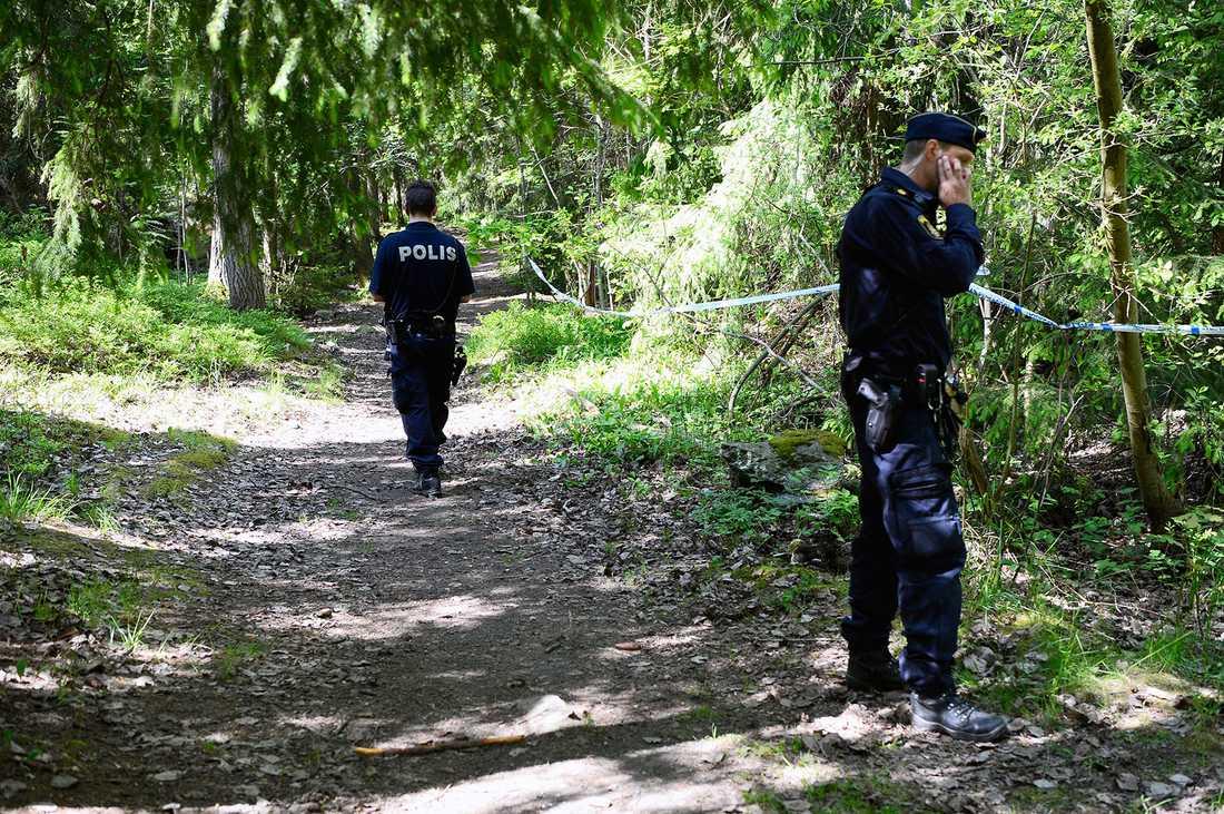 Marziehs döda kropp hittades på förmiddagen den 30 maj 2016 i ett skogsparti i Hökarängen i södra Stockholm.