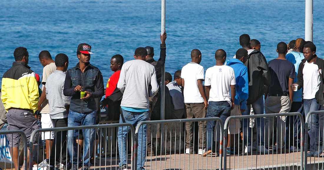 Eritrianer är en av de största grupperna av flyktingar som nu kommer till Europa. Hittills i år har knappt 7000 sökt asyl i Sverige.
