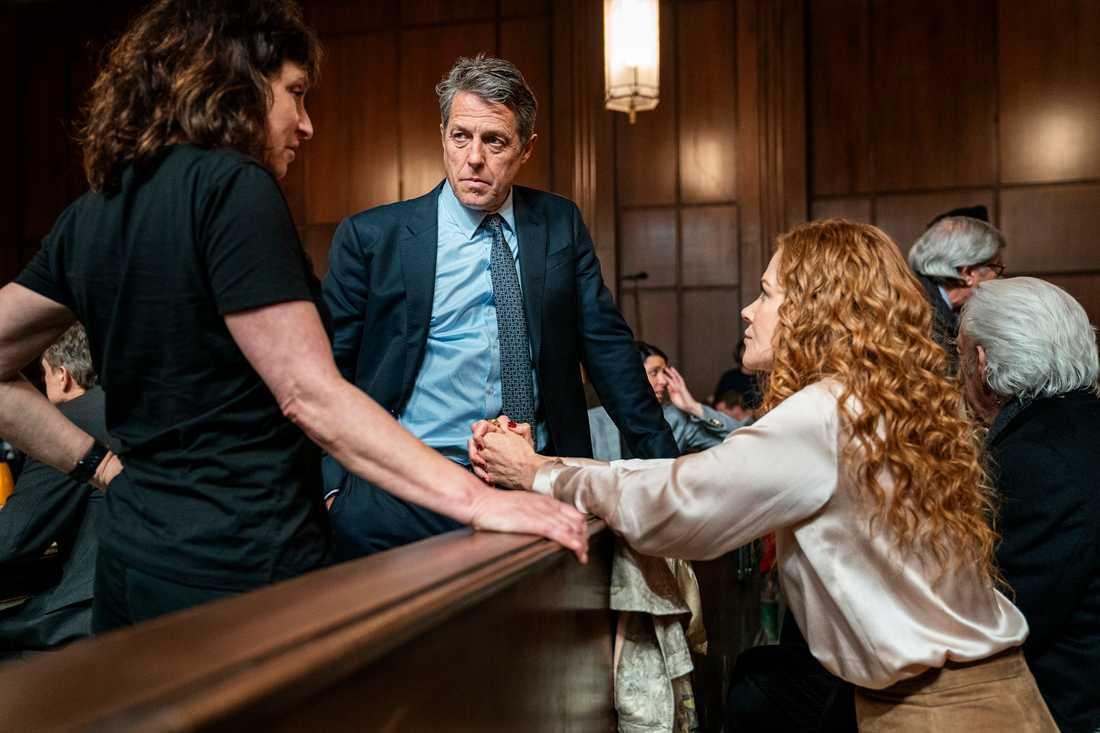 Susanne Bier var angelägen om att få jobba med Nicole Kidman och Hugh Grant i serien. Pressbild.