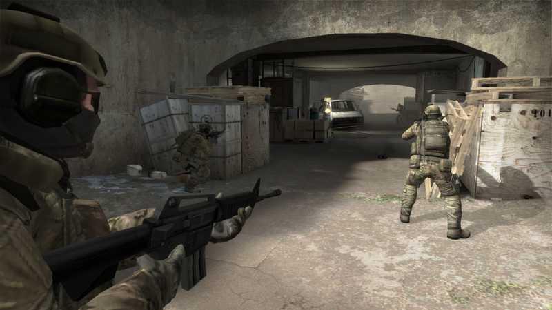 """Counterstrike Global Offensive är ett """"first person shooter""""-spel."""