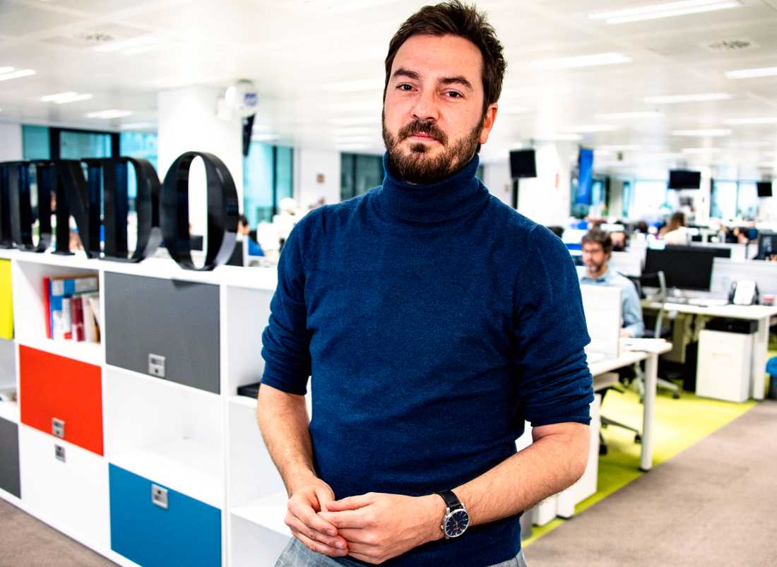 Jorge Bustos, opinionschef på dagstidningen El Mundo.