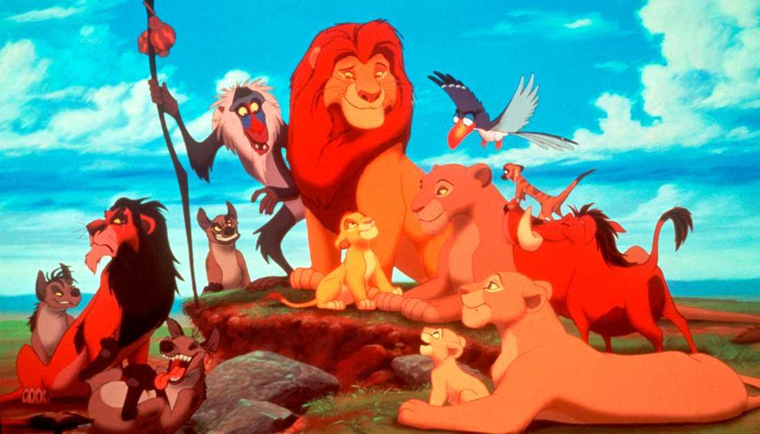 """Disney släpper en otecknad version av klassikern """"Lejonkungen""""."""