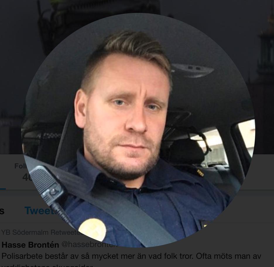 Viktor Adolphson, polisinspektör, Södermalmspolisen.