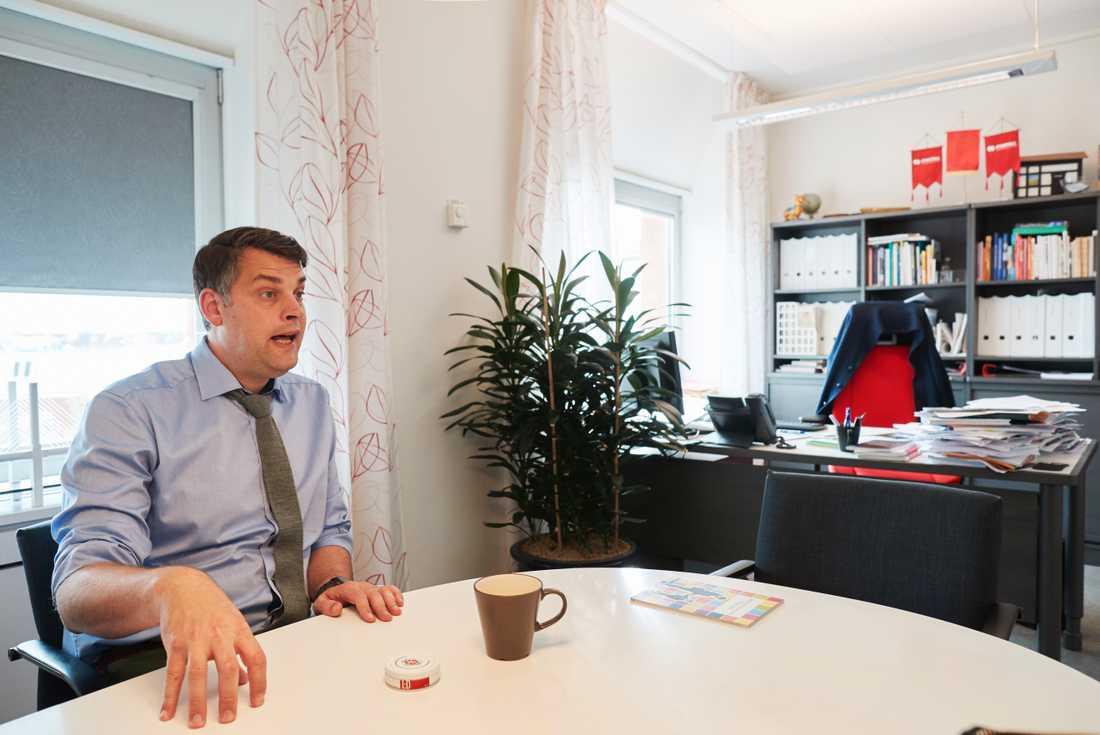 Kommunalrådet i Malmö, Andreas Schönström (S).